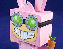 Poptropica - Papercrafts
