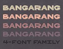 Bangarang 4-Font Family