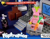 Poptropica - Dr. Hare's Lair - LEGO Cuusoo