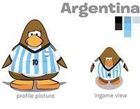 WorldCup Illustration concepts