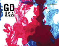 Graphic Design USA (GDUSA) Magazine Cover