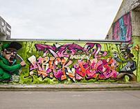 """Graffiti Jam """"Kirishi Flow"""" in Kirishi 2014"""