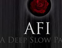 "AFI ""A Deep, Slow Panic"" single entries"