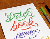 - Sketchbook - Lettering and Calligraphy -