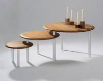 HEAL's Discovers 2011 - Twist Occasional Tables