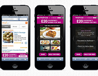 Waitrose Valentine Mobile Ads