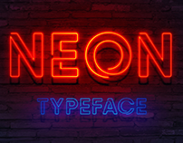 30+ Massively Beautiful Neon Fonts for Your Dope Design