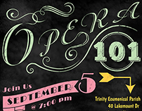 Opera 101 Poster