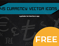 45 Currency Vector Icons ( Free Icon )