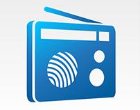 Radioline app stores icon & logo