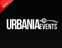 UrbaniaEvents Website Design