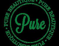 Pure Beautique Logo