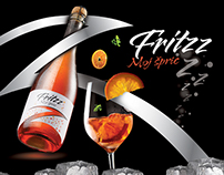 FRITZZ Packaging design and campaign