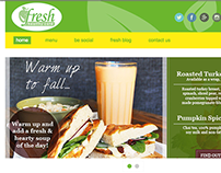 Fresh Cafe Houston Website