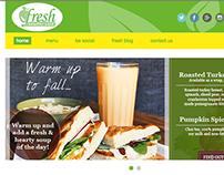 Fresh Cafe Houston Website