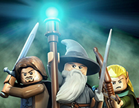 Lego Lord of the Rings Mobile Site