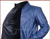 Superman Batman Reversible Leather Jacket