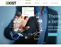 Exist Software Website Redesign