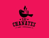 """IDENTIDAD """"LOS CHANATES"""" Café Restaurant"""