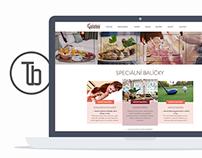 Galatea - koncept webu