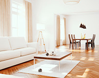 Living Room Full CGI