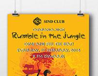 Sind Club - Posters