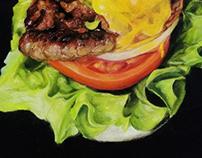 Burger draw