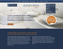 Plumbing Supplies Web Design