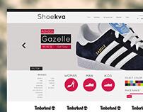 Shoekva - webdesign