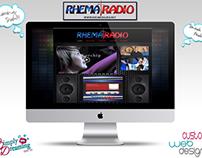Rhema Radio Web Design