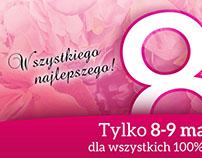 Banner 8 march