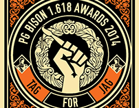 PG Bison 1.618 Awards 2014 | Electronic Invite