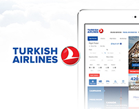 Turkish Airlines Web Site Redesign