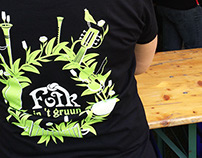 Folk In 't Gruun Festival T-Shirts