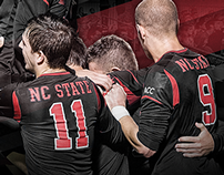 2014 NC State Men's Soccer Poster