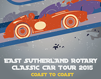 2015 East Sutherland Classic Car Rally branding