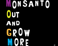 GMO Poster (United Nations New York) - Hand lettering