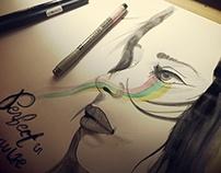 Various Illustrations & Doodles 2014