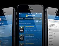 Cinépolis App iOS