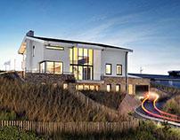 Villa in the dunes, Bergen aan Zee
