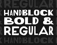 HandBlock 2-Font Family