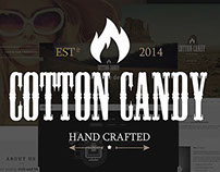 Cotton Candy | One page HTML template