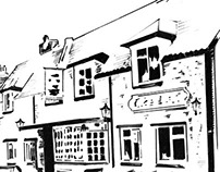 Illustration of The Druid's Arms Pub