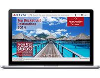 Web Application Design: Delta Airlines
