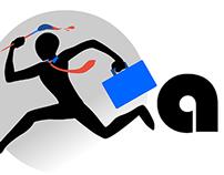 ArtNBiz Logo Concept for Website Project