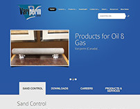 Oil & Gas Company Website