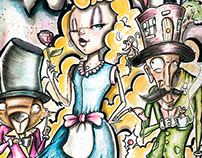 Concept Alice in Wonderland