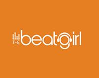 """Logo Design for """"The Beat Girl"""""""