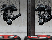 Black Spiderman 3d.