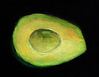 Empty Avocado